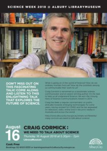Craig Cormack: We need to talk about Science